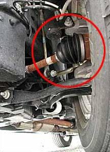 Akin's Auto Repair-axle