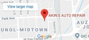 Oxygen O2 Sensors Replacement | Akin's Auto Repair | San Jose, CA